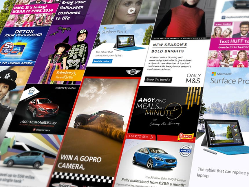 Rich Media display advertising feature image