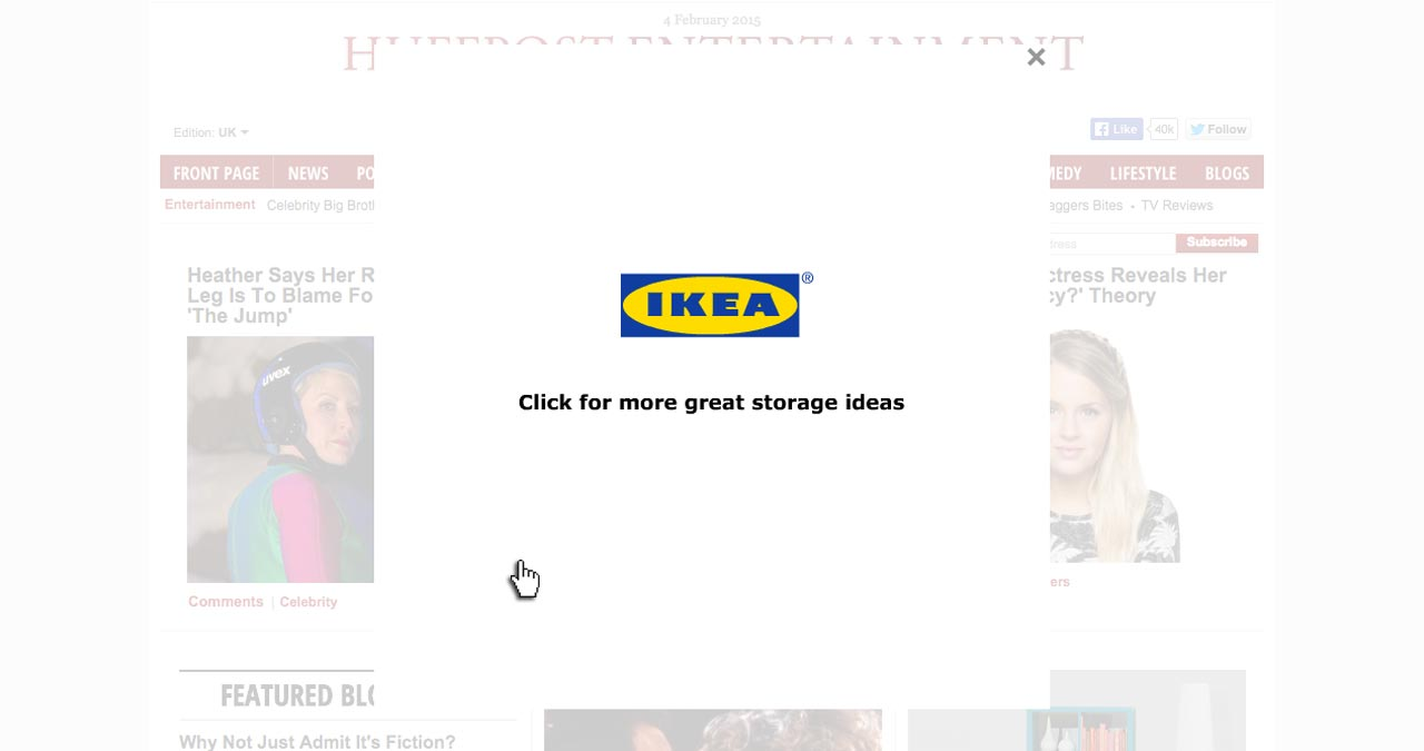 IKEA Storage Huff Post Takeover