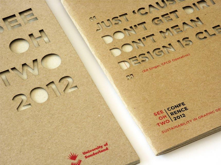 Sustainability in Design - Event Brochure Design image